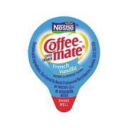 Coffee-mate French Vanilla Liquid Creamer, 0.38 Oz., 180/Box (35070)