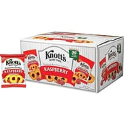 Knott's Berry Farm Cookies, Raspberry, 2 Oz., 36/Carton (BIS59636)