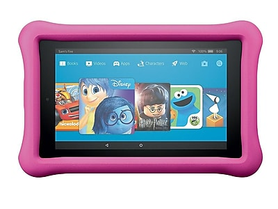 """Amazon Fire 7 Kids Edition B01J90MOVY 7"""" Android Tablet, Quad-Core 1.3 GHz"""