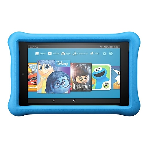 """Amazon Fire HD 8 Kids Edition B01J94SBEY 8"""" Android Tablet, Quad-Core 1.3 GHz"""