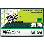 Scotch-Brite™ General Purpose Scouring Pad, Green, 10/Pack (96CC)