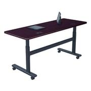 "Balt Training Room Table, 24""D x 60""W, Mahogany (90327)"