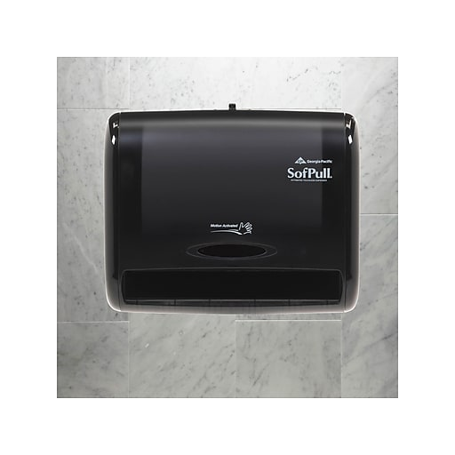 Georgia Pacific Gep58470 Sofpull Automatic Touchless Paper Towel Dispenser Staples
