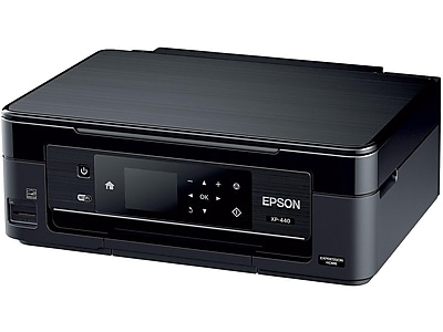 Epson Expression Home XP-440 Small-in-One C11CF27201 USB & Wireless Color Borderless Print-Scan-Copy Printer