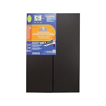 Elmer's Tri-Fold Foam Presentation Board, 4' x 3', Black (902091)