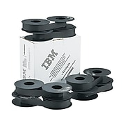 Lexmark Nylon Printer Ribbon, 1040995, Black, 6/Bx