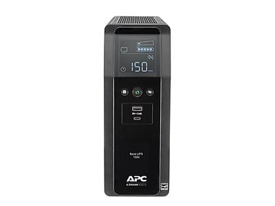 APC Back-UPS Pro BN UPS, 1500VA, 10 Outlets, 2 USB Charging Ports, AVR, LCD interface Black (BN1500M2)