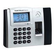 Pyramid TimeTrax Elite Fingerprint Time Clock System, Silver/Black (TTELITEEK)
