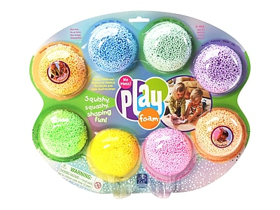 Educational Insights Playfoam Craft Materials, Assorted Colors, 8/Pack (1906)