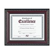 DAX World Class Wood Certificate Frame, Walnut (N3245N2T)