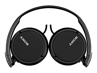 Sony Headphones, Black (MDRZX110/BLK)