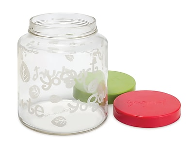 Euro Cuisine 64 oz Glass Yogurt Jar (GY85)