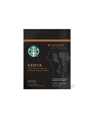 Starbucks Verismo Kenya Medium Roast 72 ct (011060894)