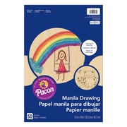 "Pacon® Manila Drawing Paper, 12""x18"", 6 Packs of 50 Sheets Per Pack (PAC4139)"