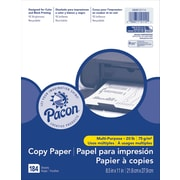 "Pacon® Multi-Purpose Office Paper, 8.5""x11"", White, 3 Packs of 184 Sheets Per Pack (PACMMK12114)"