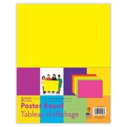 "Pacon® Poster Board, 11""x14"", Assorted Neon Clours, 12 Packs of 5 Sheets Per Pack (PACMMK04506)"