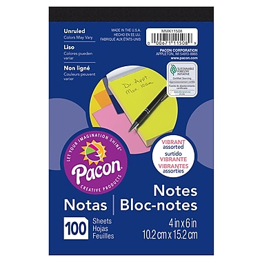 Pacon Note Pad, 4