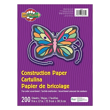 Pacon® Little Fingers® Construction Paper, 9