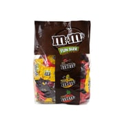 M&M'S Chocolate Candy Fun Size Assorted Variety Mix 150 Piece Bag, 85.23 oz (MMM50944)