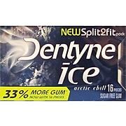 Dentyne Ice Sugar Free Gum, Arctic Chill, 9/Box (AMC31240)