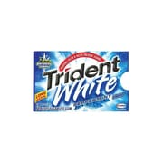 Trident White Sugar Free Gum, Peppermint, 9/Box (AMC67608)