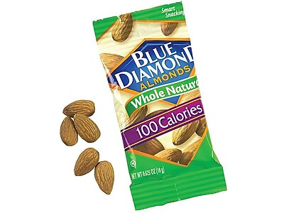 Blue Diamond Nuts, Almond, 0.63 Oz., 32/Box (220-00512)