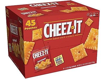 Cheez-It Crackers, Original, 1.5 Oz., 45/Carton (71717)