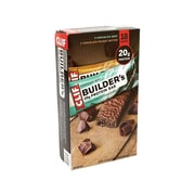 Clif Bar Builder's Bars, Chocolate, 2.4 Oz., 18/Pack (220-00543)