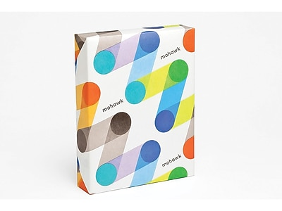 "Mohawk Everyday Digital 13"" x 19"" Multipurpose Paper, 60 lbs, 98 Brightness, 500/Ream, 3 Reams/Carton (51202M)"