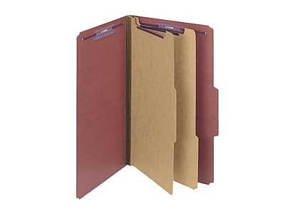 Smead Pressboard Classification Folders, 2