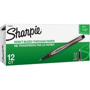 Sharpie® Felt Pens, Fine Point, Red Ink, Dozen (1742665)