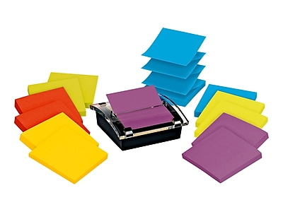 Assorted Sizes Blue Deer Notes Pad Set Tearable Pop Up Notes Cube Memo Pads for Daily Taking Notes Office School Desk Planning Organization Blue Deer Reminders and Work Business