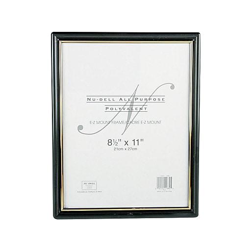 a52123fc55b0 NuDell EZ Mount Plastic Certificate Frame