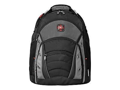 Wenger Synergy Laptop Backpack, Black/Gray (GA-7305-14F00)