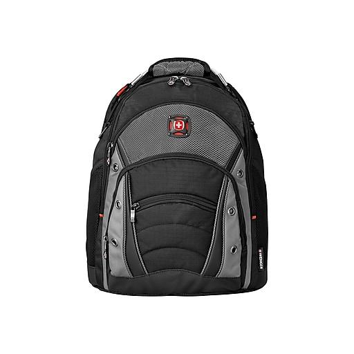 53d8f37c0c60 SwissGear Synergy Black/Grey Laptop Backpack (GA-7305-14F00)   Staples
