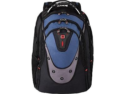 Wenger Ibex Laptop Backpack, Black/Blue (27316060)