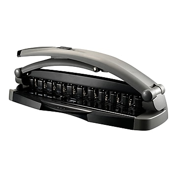 Staples Arc System Adjustable Punch, 8 Sheet Capacity, Gray (40836)