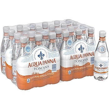 24-Pack Acqua Panna 16.9-oz Natural Spring Water