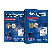 "Navigator Premium 8.5"" x 11"" Multipurpose Paper, 24 lbs., 99 Brightness, 500/Ream, 10 Reams/Carton (NMP1124)"
