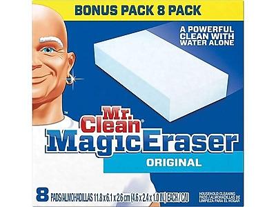 Mr. Clean Magic Eraser Original White Sponges, 8/Pack (45084)