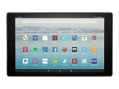 """Amazon Fire HD 10 B01J6RPGKG 10.1"""" Android Tablet, Quad-Core 1.8 GHz"""