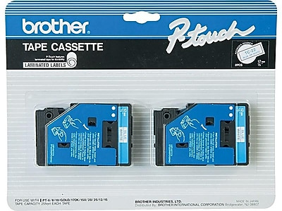 Brother TC22 Label Maker Tapes, 0.47