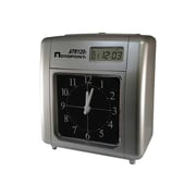Acroprint Punch Card Time Clock System, Silver (ATR120r)