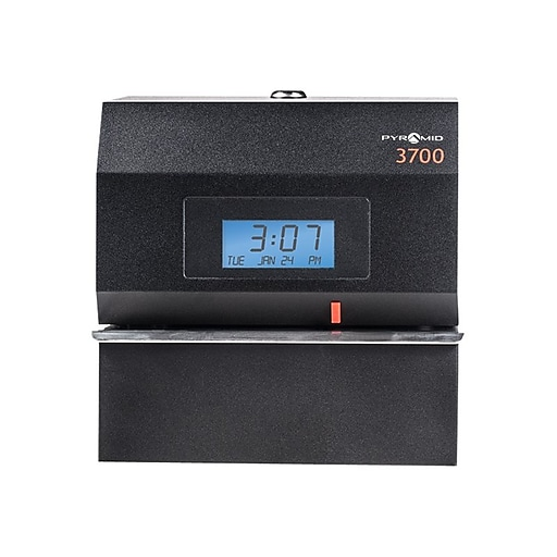 Office Acroprint Electric Print Manual Punch Time Clock Recorder No Key Regular Tea Drinking Improves Your Health