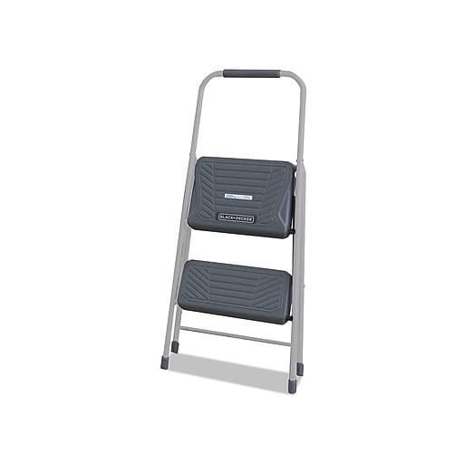 Black + Decker 1.42'H Steel Step Stool (BXL4360-02)
