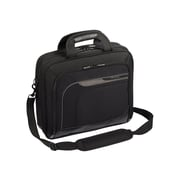 Targus Mobile Elite Laptop Briefcase, Black Polyester (TBT045US)