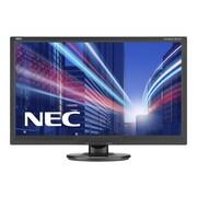 "NEC AccuSync AS242W-BK 24"" LED Monitor, Black"