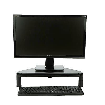 Mind Reader Rotative Corner Adjustable Monitor Risers Monitor Stand