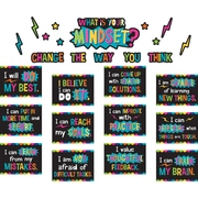 Teacher Created Resources What is Your Mindset? Bulletin Board Display Set  (TCR8882)