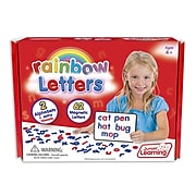 Junior Learning Magnetic Rainbow Letters Set, 3 Sets (JRL196)
